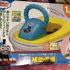 コメント大歓迎/甥っ子/フォロー大歓迎/トイレ 甥っ子の為にこんなの購入~😅 自分の子供…
