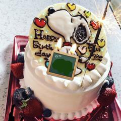 コメント大歓迎/小麦粉アレルギー/甘党大集合/米粉ケーキ/グルメ/スイーツ 誕生日に小麦粉アレルギーの私に親友から米…