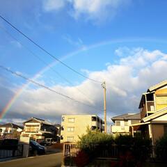 お天気/レインボー/虹  今朝ゎちめたく⛄みぞれ混じりの雨☔ そ…