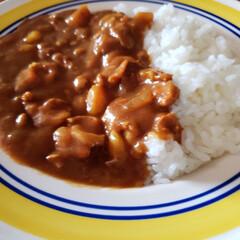 カレーライス/甘口カレー/lunch  いっただきま~す😋♪♪♪