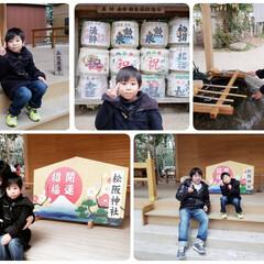 お焚き上げ/お守り/甘酒/おみくじ/松阪神社  1月2日、我が家に還ります。。。 でも…