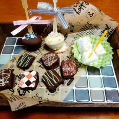 ミニオンズチョコ/手作りチョコ♡/バレンタインチョコレート/バレンタイン/2月14日 今年も有翔の大好きな バレンタイン💝がや…