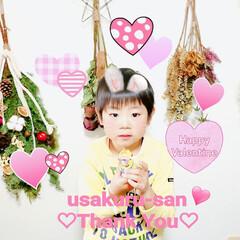 素敵便/サプライズプレゼント/ハンドメイド/ミニオンズ/バレンタイン便/黒板消しスゴく嬉しい♡/... usakuruさん(ノ_・、)💓  元気…(5枚目)