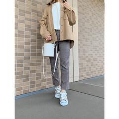コーディネート/H&M/エイチアンドエム/ママコーデ/ママファッション/プチプラファッション/... ベージュコーデ♪ cpoジャケットにチェ…