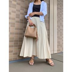 ローリーズファーム/ママコーデ/ママファッション/ザラ/ZARA/ファッション/... スカートコーデ♪ LOWRYSFARMの…