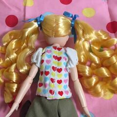 ツインテール/縦ロール/金髪/リカちゃん/ゴージャス/かわいい/... ミサトちゃんの髪型は、魅惑の「金髪ツイン…