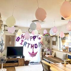 誕生日飾り付け/お誕生日/DIY/100均/ダイソー/セリア/... 17日は娘のお誕生日でした。 10歳と節…