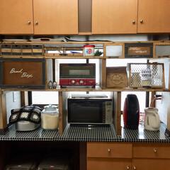パタパタ扉/キッチンカウンター/ディアウォール/キッチン キッチンカウンターの上にディアウォールを…