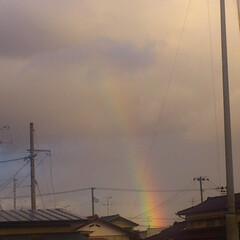 虹/ありがとう平成/平成最後の一枚 平成もあとわずか… 令和では良い事があり…