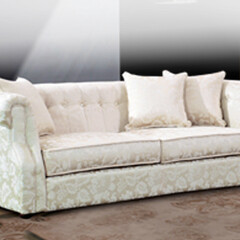 チェスターフィールド/白家具/ソファ/ソファー/ホワイト家具/3人掛けソファー/... チェスターフィールドの素敵なソファー …