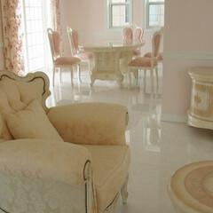 お姫様家具/ホワイト家具/白家具/イタリア家具/ヨーロピアン家具/ヨーロッパ家具/... おしゃれなお家、拝見 エレガントなホワイ…