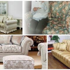 輸入家具/輸入ソファ/クラシックソファー/ヨーロピアン/イタリア/布ソファー/... 中々お目にかかれないソファーがたくさん展…