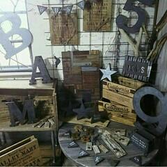 インダストリアル/サビサビ/錆/ジャンク/男前雑貨/男前インテリア/... 自作の木工雑貨達です☆イベント用にいろい…