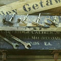 取っ手/雑貨/インテリア/工具モチーフ/工具 工具モチーフの雑貨があるとついつい買って…