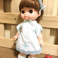 子ども/服/テーブルナプキン/人形/ハンドメイド 随分前に友達の結婚式でテーブルナプキンを…
