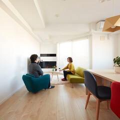 ミサワホームイング/北欧/シンプル/白/ホワイト/バイオエタノール/... 中古マンションを購入してリノベーション。…