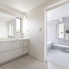 インテリア/住まい/リフォーム/リノベーション/インテリアデザイン/インテリアコーディネート/... マンションのリノベーション。洗面・浴室は…