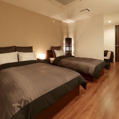 リフォーム/インテリア/住まい/収納/リノベーション/マンション/... マンションのリノベーション。寝室はシック…