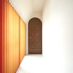 インテリア/住まい/リフォーム/リノベーション/インテリアデザイン/インテリアコーディネート/... 戸建のリフォーム。庭に面した長い廊下には…