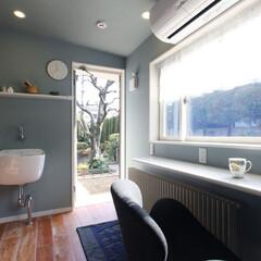 インテリア/住まい/リフォーム/リノベーション/インテリアコーディネート/インテリアデザイン/... 奥様専用の家事室兼趣味室を増築。約3畳半…
