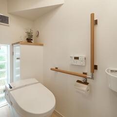 インテリア/住まい/リフォーム/収納/リノベーション/インテリアデザイン/... トイレのバリアフリーリフォーム。お祖母様…
