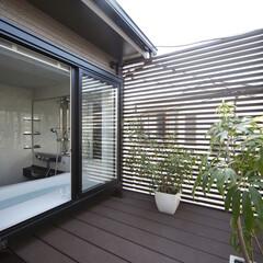 インテリア/住まい/リフォーム/リノベーション/浴室/戸建リフォーム/... 1階の玄関脇にあった浴室をリフォームで2…