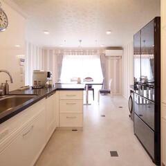 リフォーム/インテリア/住まい/キッチン/収納/リノベーション/... 築30年のマンションをリノベーション。ホ…