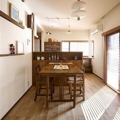 リフォーム/リノベーション/アンティーク/住まい/木製建具/インテリア/... リメイクしたアンティーク建材で和洋&新旧…