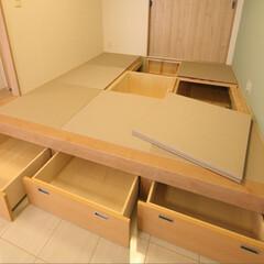インテリア/住まい/リフォーム/収納/リノベーション/インテリアデザイン/... リビングを拡張するため隣接する6畳の和室…(2枚目)