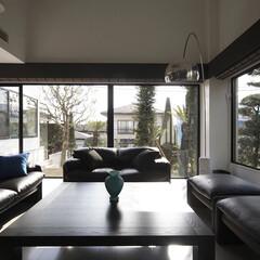インテリア/家具/住まい/リフォーム/リノベーション/インテリアコーディネート/... 戸建住宅のリノベーション。リビングで映画…