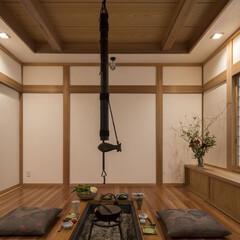 桜材/杉板/漆喰/障子/和天井/和室インテリア/... 温泉地に中古戸建をセカンドハウスとして購…