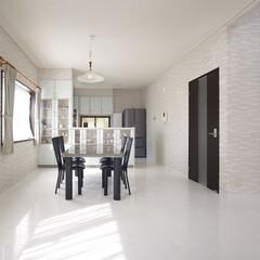インテリア/住まい/リフォーム/キッチン/リノベーション/インテリアデザイン/... 戸建のリノベーション。優美な艶をまとった…