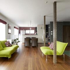 キッチン/インテリア/住まい/リフォーム/リノベーション/インテリアデザイン/... 奥様の実家の2階を子育てしやすい住まいに…
