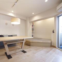 インテリア/家具/リフォーム/収納/リノベーション/インテリアデザイン/... マンションのリノベーションでリビングの一…