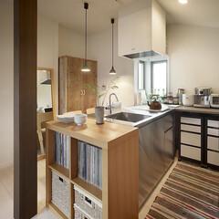 インテリア/住まい/リフォーム/キッチン/収納/リノベーション/... 実家での同居を機に二世帯へリフォーム。使…