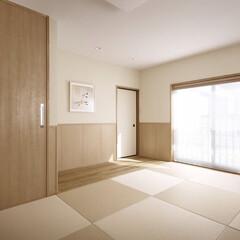 インテリア/住まい/リフォーム/リノベーション/インテリアコーディネート/インテリアデザイン/... 納戸となっていた2階の和室を間仕切りを取…