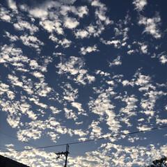 風景 単純に昨年秋に我が家の窓口から見えた雲……