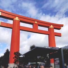 LIMIAおでかけ部/風景 平成最後のお正月 3日 平安神宮