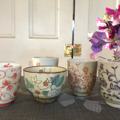陶器市/キッチン雑貨 湯呑み茶碗も買いました