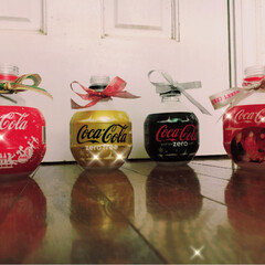 心ウキウキ/ペットボトル/クリスマス 何年か前の、コカ・コーラのクリスマス限定…