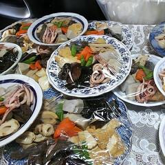 お祭り/煮物/母実家 母親の実家におじゃましてます 毎年恒例の…