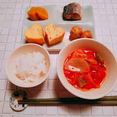 朝食/nagomiさん作 ٩(๑´0`๑)۶オッハョーーー 今日は…