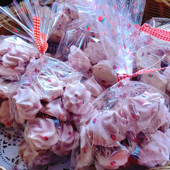 ベリーコテージ/パッションフルーツ/ラズベリー/カフェオレ/メレンゲのお菓子 ~~~ヾ(^∇^)おはよー♪ 今日から週…(2枚目)