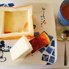 おうちごはん/nagomiさん作品コーヒーカップ.../シチュー/乃が美食パン/わたしのごはん 連投ごめんね😣🙏💦 ホントなら昨日会うは…