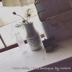 和室を洋室に/元和室/陶器瓶/マーマレードボトル/いいね♡ありがとうございます/アンティーク/... おはようございます✨    昨日…