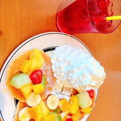 かわいい/美味しい/フルーツのパンケーキ/エッグスシングス/グルメ/フード/... エッグスシングスに行ってきました! 食べ…