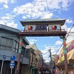 大阪/きれい/梅田/観覧車/焼肉/鶴橋/... チーズドッグを食べた鶴橋のコリアンタウン…