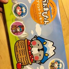 お菓子/プリントクッキー/おみやげ お土産で貰った、プリントクッキー♪ とて…