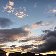 きれい/空/夕日/雲/夏/令和の一枚/... また空の写真です😅 パって空を見あげたら…