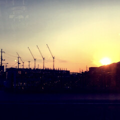 きれい/夕陽/夕焼け/令和元年フォト投稿キャンペーン/令和の一枚/フォロー大歓迎/... 夕焼けがとっても綺麗だったのでパシャリ📸…